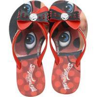 b5f653b69 Home Calçados Meninas Chinelos Vermelho. Chinelo Infantil Miraculous Ladybug  Petit Feminino - Feminino-Vermelho