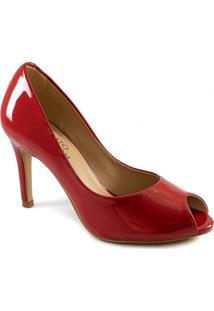 Peep Toe Feminino Salto Fino Sapato Show 1131057