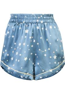 Morgan Lane Shotrs De Pijama 'Chloe' - Azul