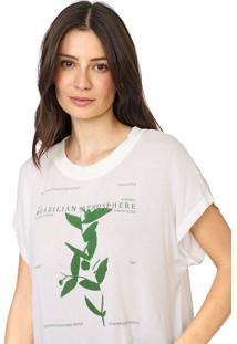 Camiseta Forum Brazilian Atmosphere Off-White