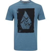 Camiseta Volcom Silk Disruption - Masculina - Verde a784e6a708315