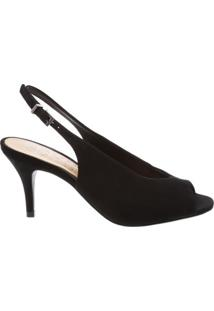 Peep Toe Midium High Vamp Black | Schutz