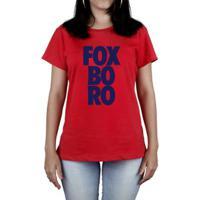 50b8ee449a Camiseta Progear New England Foxboro Feminina - Feminino