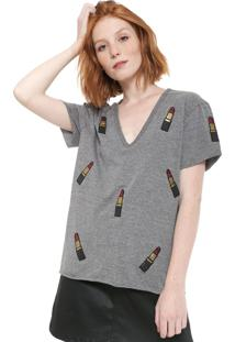 Camiseta Triton Batons Grafite