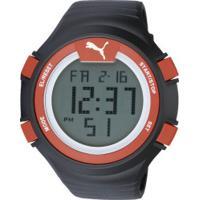 098af8c9f2c Centauro. Relógio Digital Puma 96266Mo - Masculino - Preto Vermelho