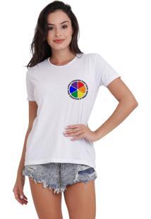 Camiseta Basica Joss Lgbt Love Is Stronger Than Hate Branca - Kanui