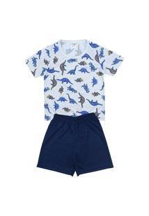 Pijama Masculino Infantil Dinossauro