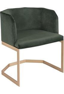 Cadeira Gaia Estofada Base Aço Carbono Pintado Star Mobile Design By Studio Marta Manente