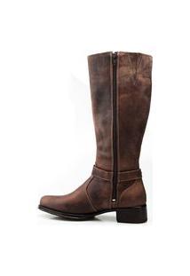 Bota Montaria De Couro Capelli Boots Marrom