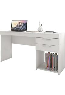 Mesa Para Computador Office 2 Gv Branco New