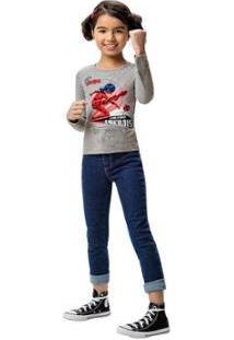 Blusa Ladybug® Malwee Kids Feminina - Feminino