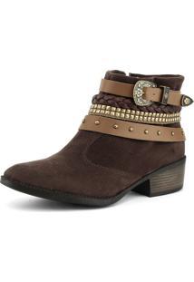 b8e914350 Sapato Marrom Trancado feminino | Shoes4you