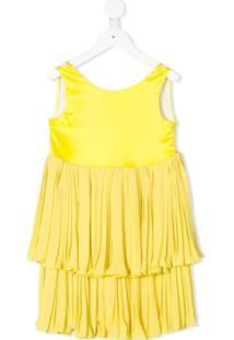 Le Gemelline By Feleppa Vestido Amarelo