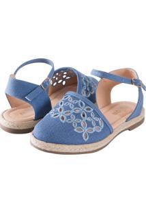Sandália Milon Jeans Azul