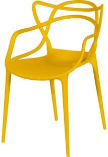 Cadeira De Jantar Solna Or Design Amarelo