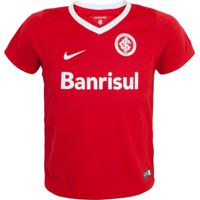 9eee8dc167 Camiseta Nike Internacional Infantil Lb Home Vermelha