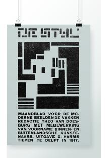 Poster De Stijl