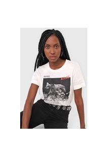 Camiseta Ellus Lobo-Guará Off-White