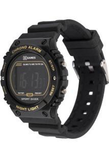 Relógio Digital X Games Xkppd066 - Unissex - Preto