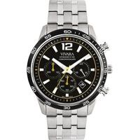 be8eae4b8fa Relógio Vivara Masculino Aço - Ds13194R0B-1