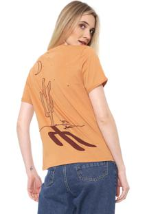 Camiseta Lez A Lez Desert Caramelo