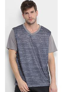 3f132217a Camiseta Gonew Pixel T27 Masculina - Masculino-Cinza