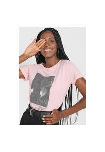 Camiseta Polo Wear Love Rosa