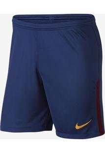 Shorts Nike Barcelona 2017 2018 Torcedor Masculino 7756456fba3fd