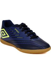 Tênis Futsal Masculino Umbro Speed Iv Azul Marinho e364897ff7b8e