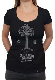 Gótica Tropical - Camiseta Clássica Feminina