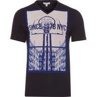 90314adbf6 Camiseta Masculina Estampa Basquete - Preto