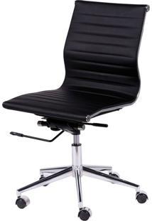 Cadeira Oia Decor Escritório Preto