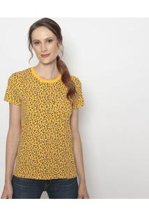 Camiseta Animal- Amarela & Pretalevis