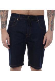 Bermuda Jeans Quiksilver Skate Denim Marinho / 46