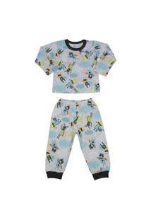 Pijama Longo Brilha No Escuro Elian