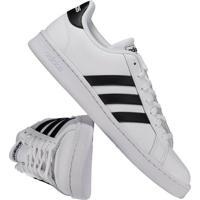 0bb7b706dd72e Fut Fanatics. Tênis Adidas Grand Court Branco E Preto