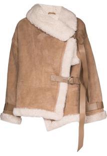 Shoreditch Ski Club Darling Oversized Jacket - Neutro