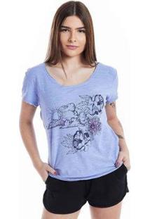 Camiseta Mormaii Baby Look Paradise Feminina - Feminino