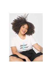 Camiseta Cantão Doce Rio Off-White