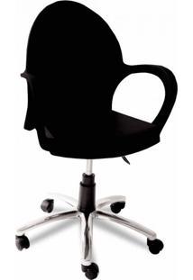 Cadeira De Escritório Diretor Grace Preto