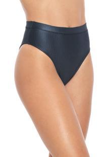 Calcinha Cia.Maritima Hot Pant Texturas Azul-Marinho