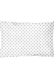 Travesseiro Papi Baby Abstrata- Branco & Preto- 40X2Papi