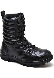 Bota Top Franca Shoes Segurança - Masculino-Preto