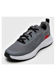 Tênis Nike Sportswear Wearallday Cinza/Vermelho