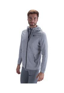 Jaqueta Com Capuz Nike Dry Fit - Masculina - Cinza