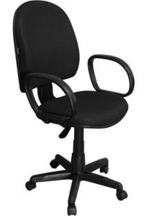 Cadeira De Escritório Pethiflex Excellence Pegbp Executiva Giratória Preta