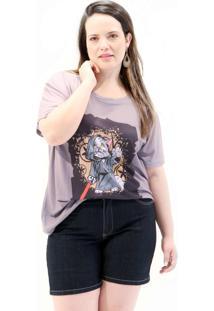 Camiseta Mestre Yoda Plus Size