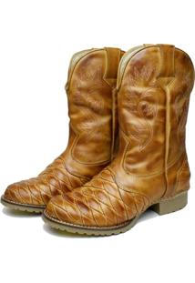 Bota Clacle Country Bege