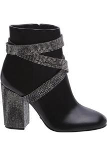 Ankle Boot Belt Shine Black | Schutz