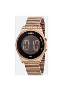 Relógio Feminino Euro Eubjt016Ab/4J Digital 5Atm   Euro   Preto   U